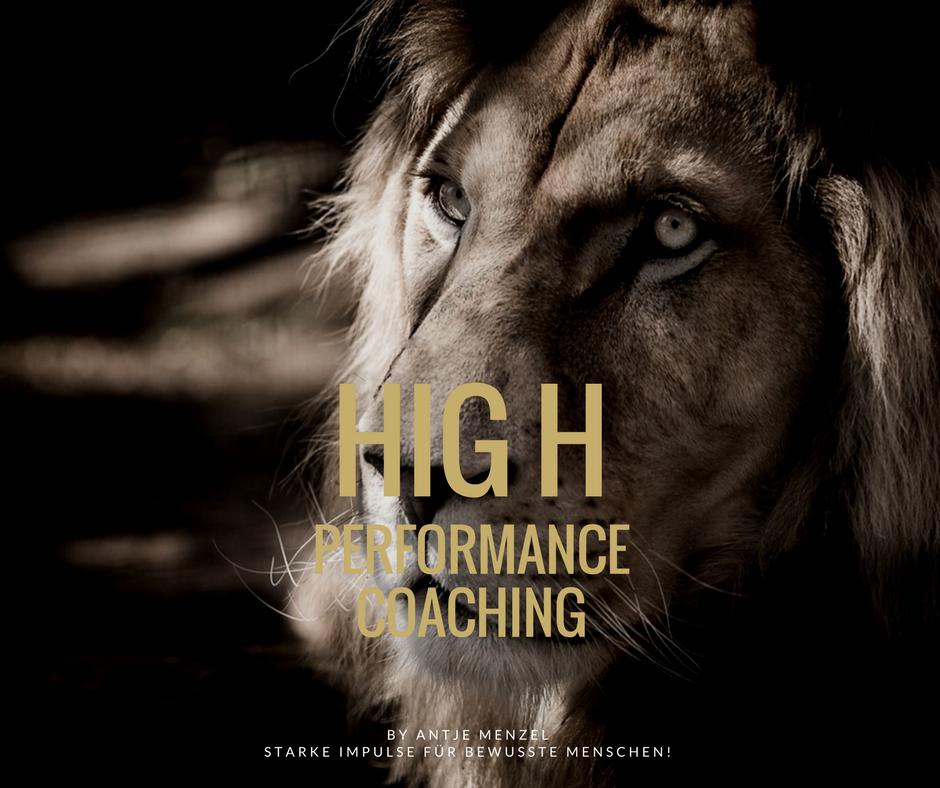HIGH PERFORMANCE COACHING